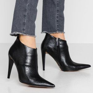 Topshop | BNIB Harlow Black Point Ankle Boots